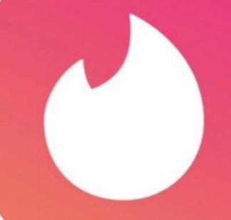 ティンダーアプリのロゴ